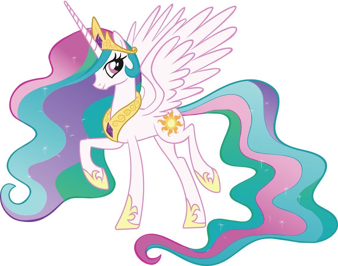 彩虹小马图片可爱