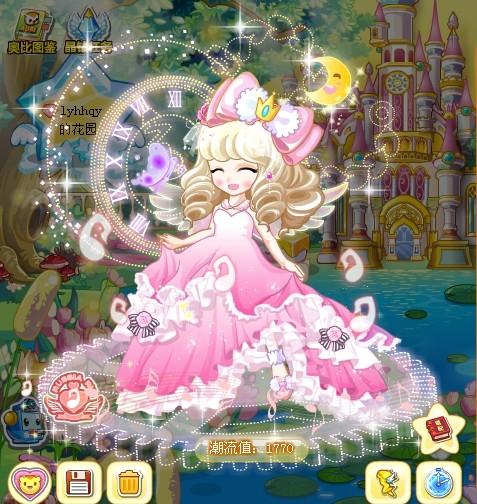 及地公主裙,仿佛是从天边飘落的霓裳;  从那高耸的梦幻城堡里走出来