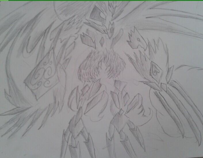 【孤·星】天狼素描手绘图