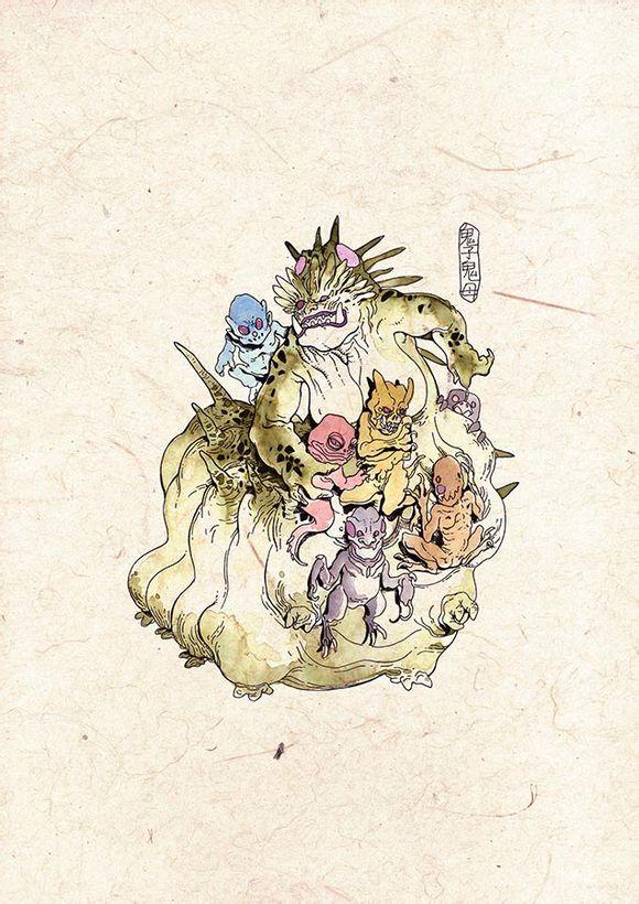 【兔豆】中国古代各种恶鬼