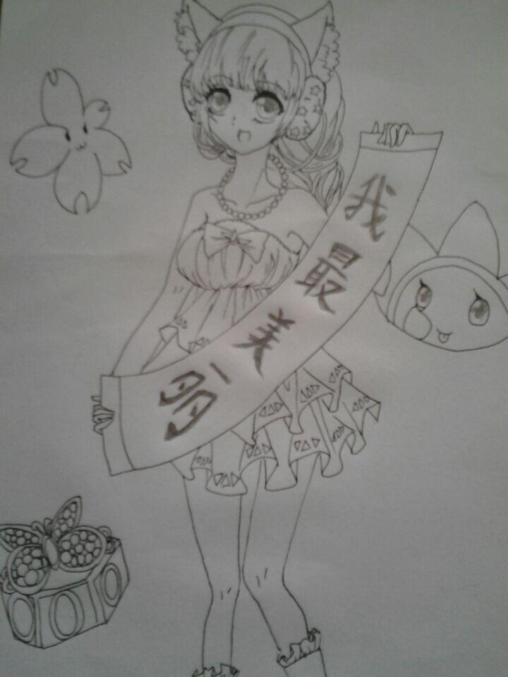 花卉简笔画 小动物 公主