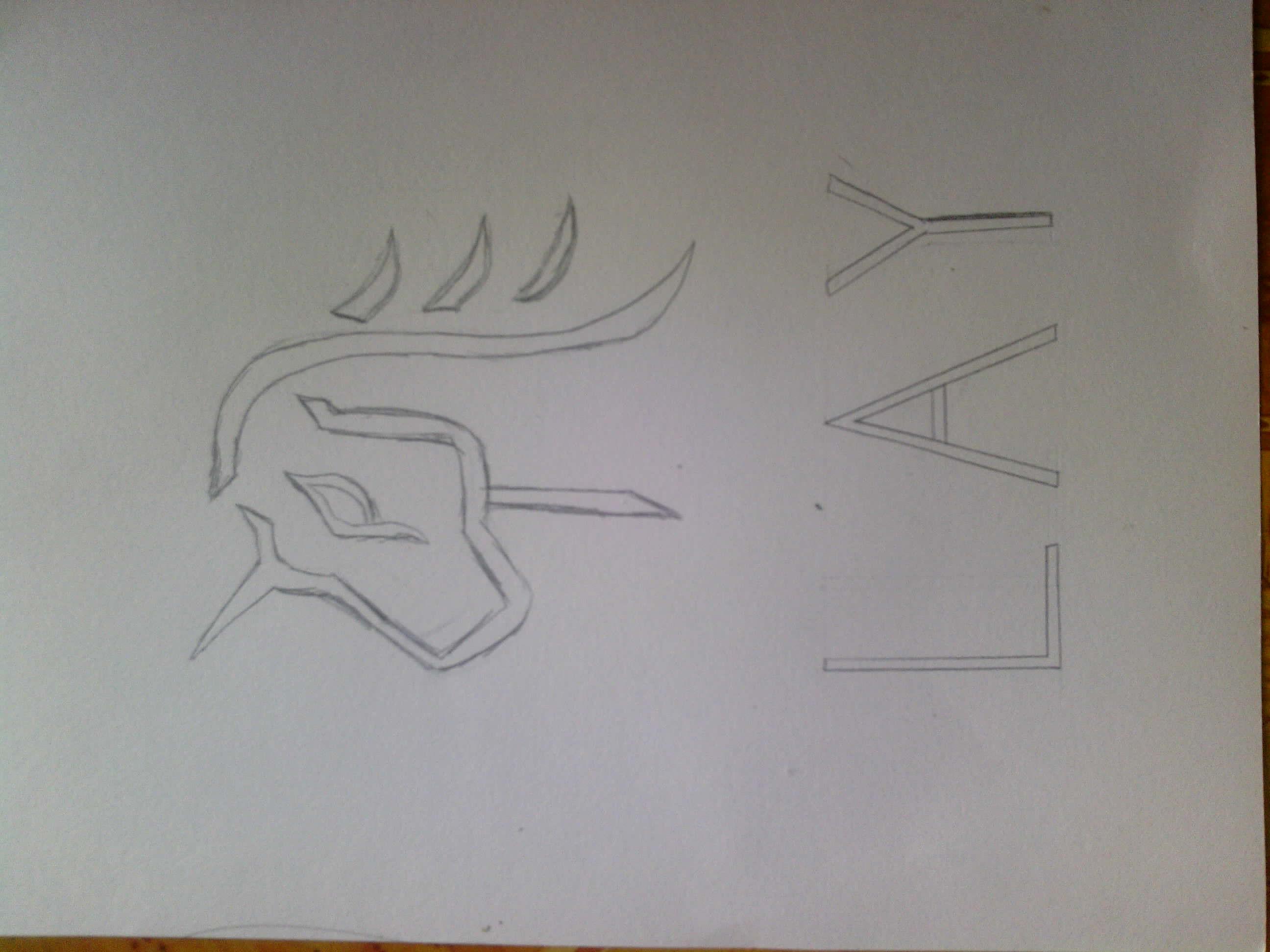 〈exoplanet° exo成员logo手绘图