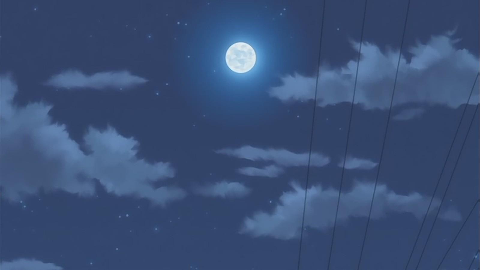 动漫中的月亮