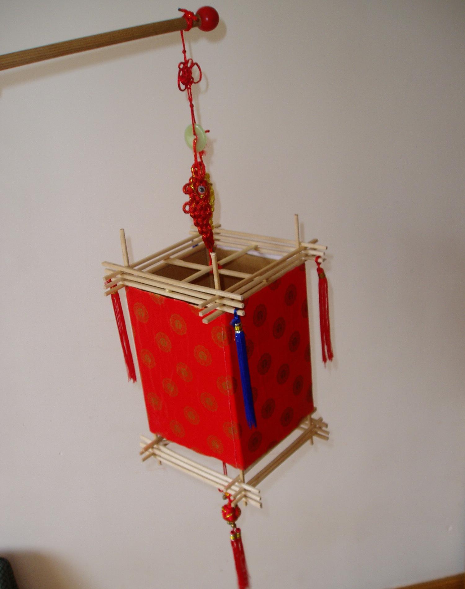 怎么手工制作灯笼