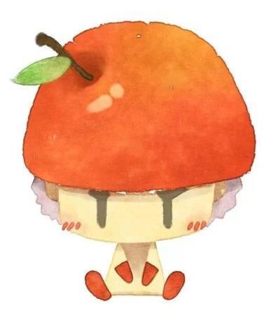 【墨子】超萌水果情侣,拿去做头像吧【转】