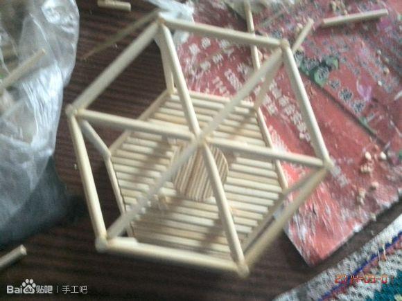 【芷寒】转——竹签,筷子制作凉亭