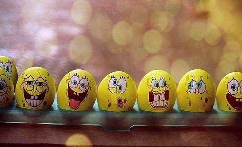 海绵宝宝鸡蛋图片