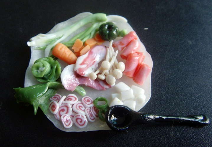 软陶教程图解蔬菜