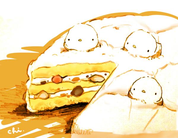 【暖瞳】萌萌哒手绘食物耶