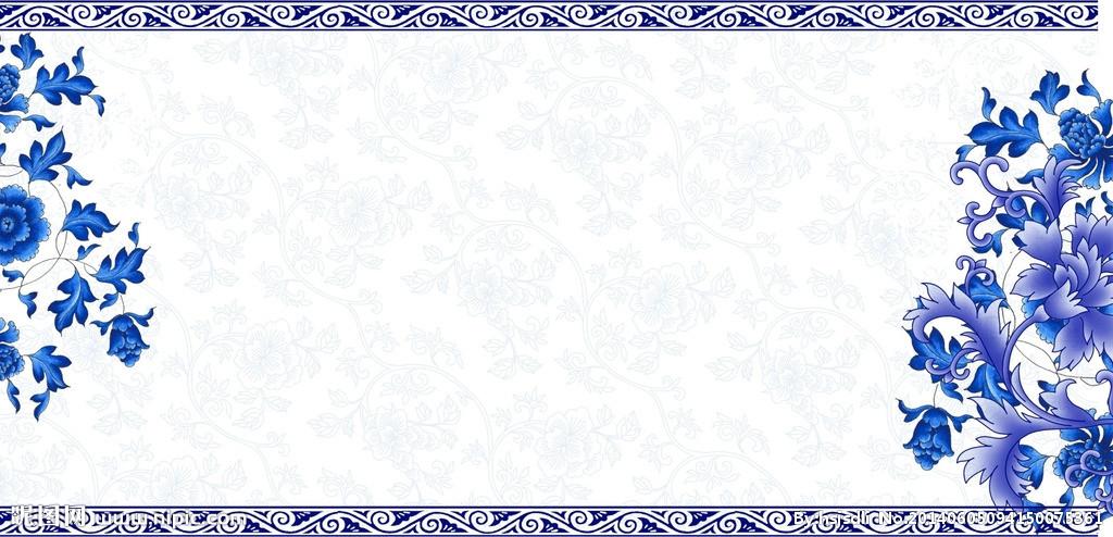 古典孝的底纹边框