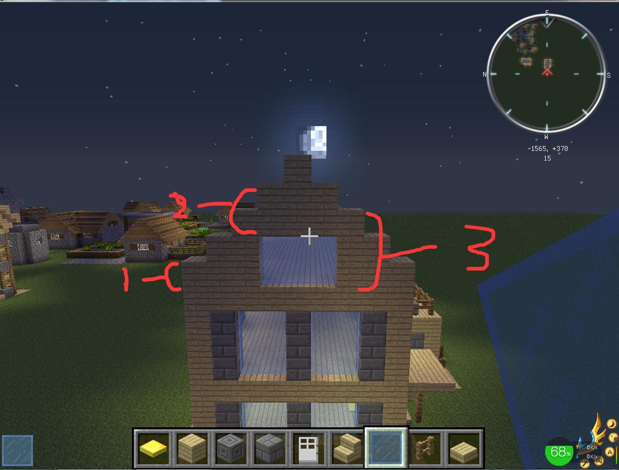 我的世界别墅建发