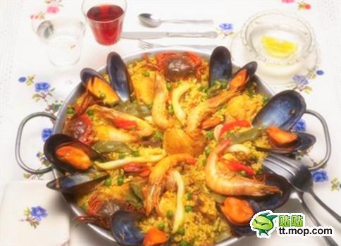 西班牙海鲜拌饭