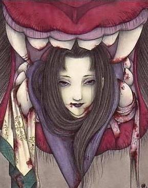 美女是鬼首前面的诱饵
