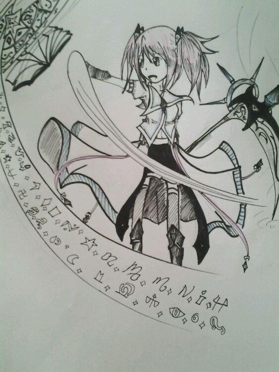 龙斗士手绘女召唤师