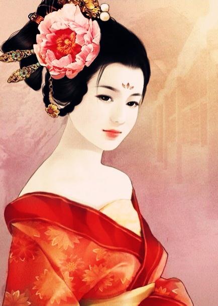 【梦】图楼,古风美女图