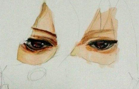 (伪直播)马克笔画眼睛