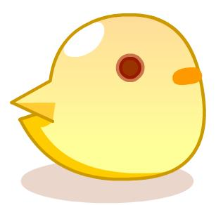 真是一只可爱的小鸡