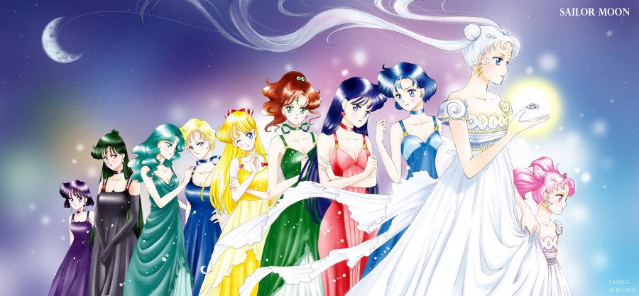 《美少女战士crystal》的歌曲 月光传说>