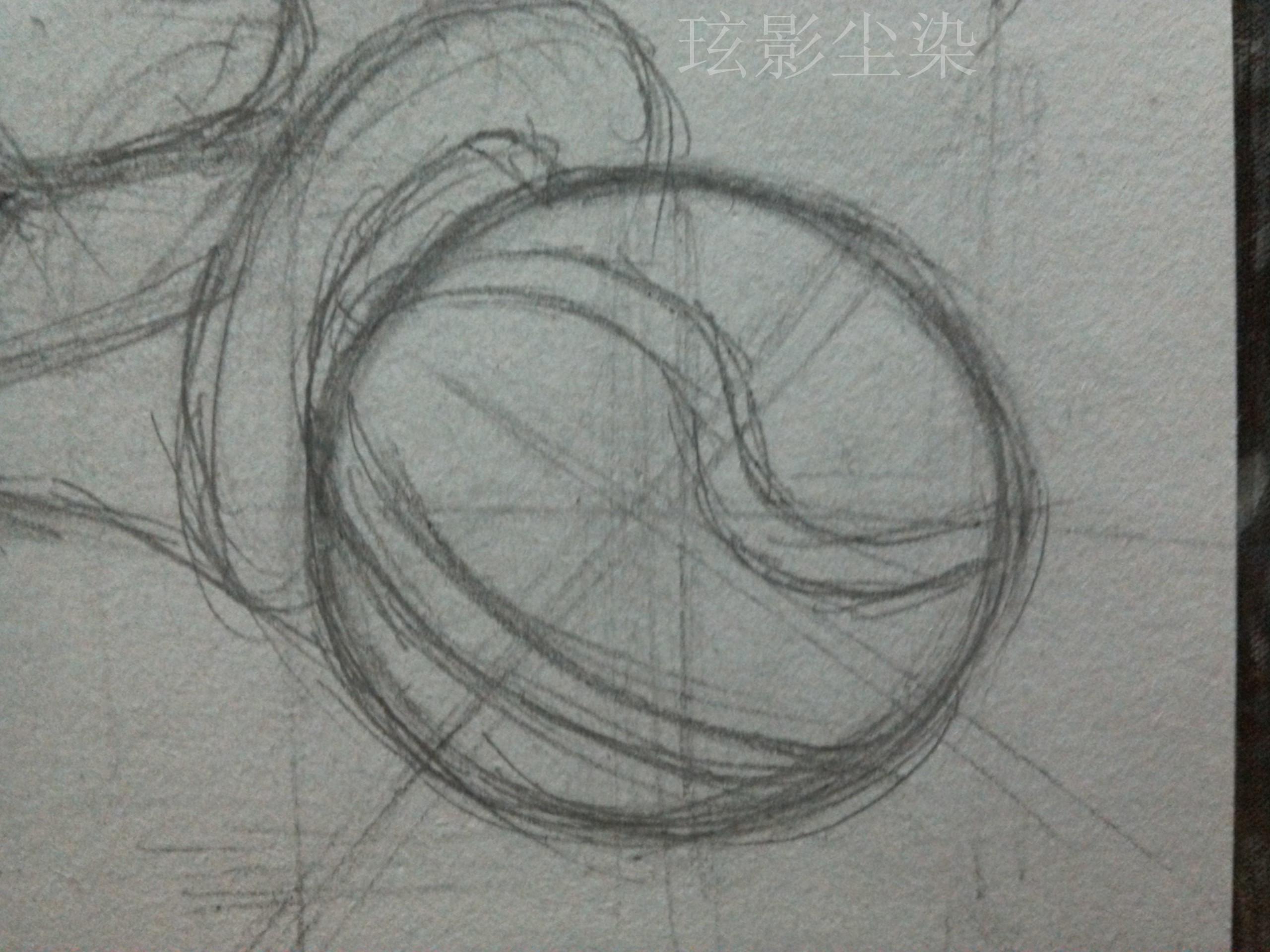 绘画临摹素材 人物线稿手稿素描线条稿插画图集 彩