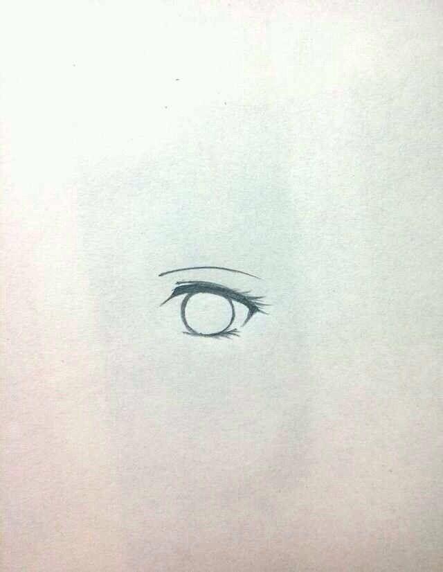 【纤陌.墨莲】手绘眼睛教程