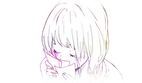 彩铅手绘玫瑰花所用简笔画
