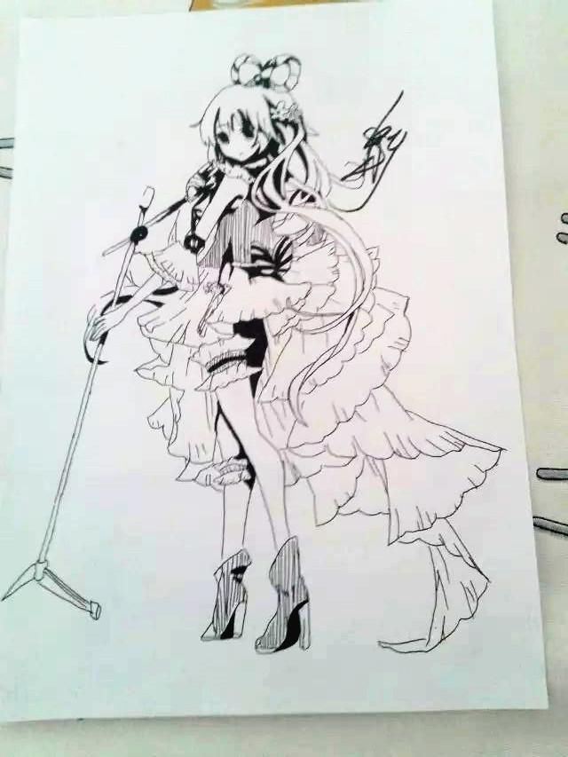 【指导团@十年】一些神奇的简单的黑白画