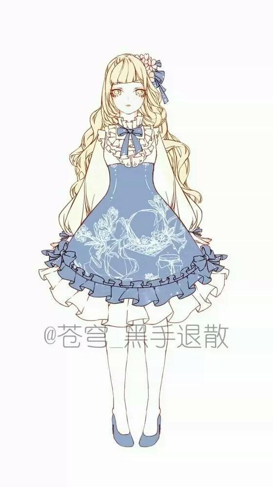 【森林少女·锦年】二次元の美腻服装