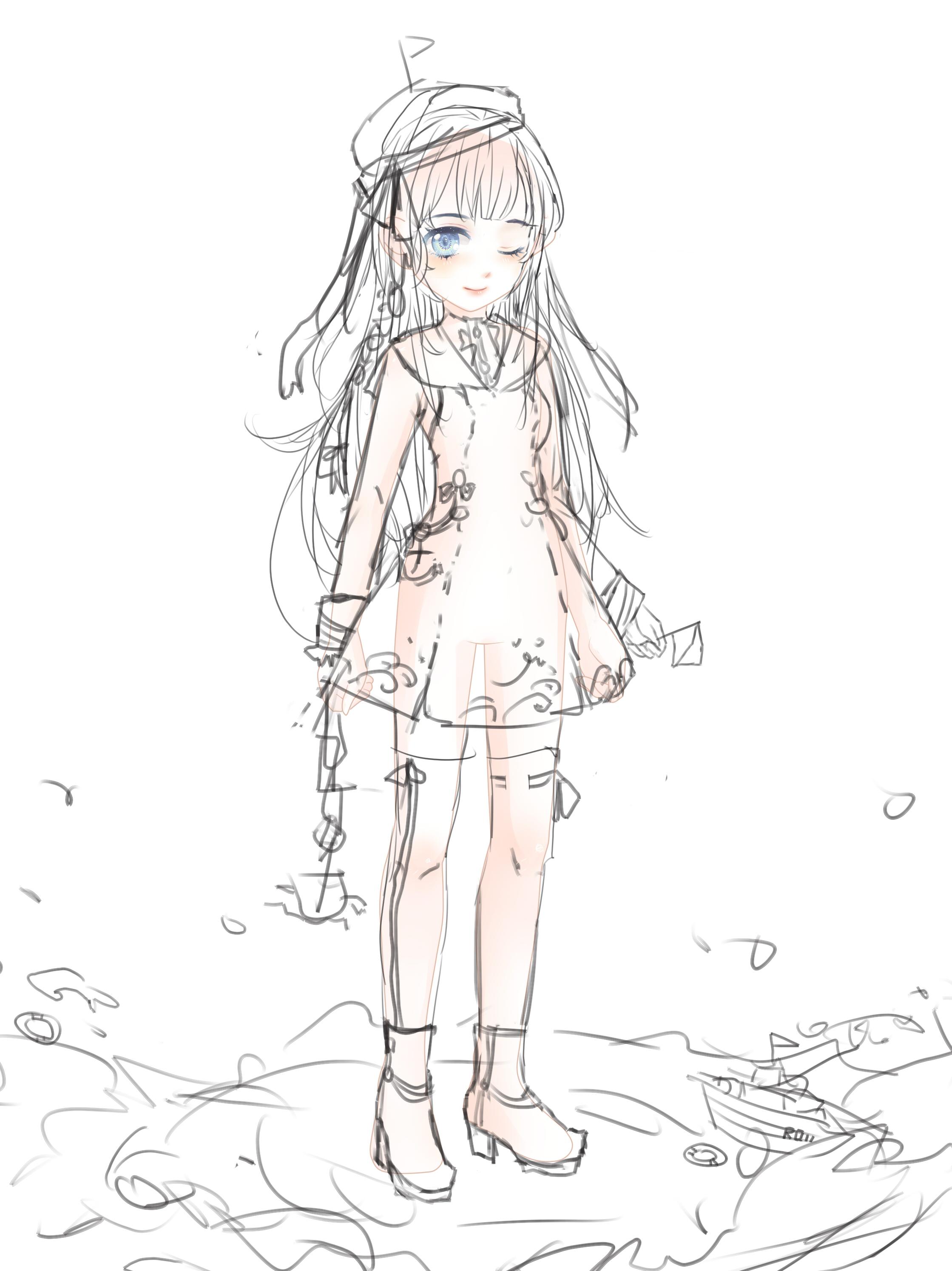 【阿柔】服设----海军水手