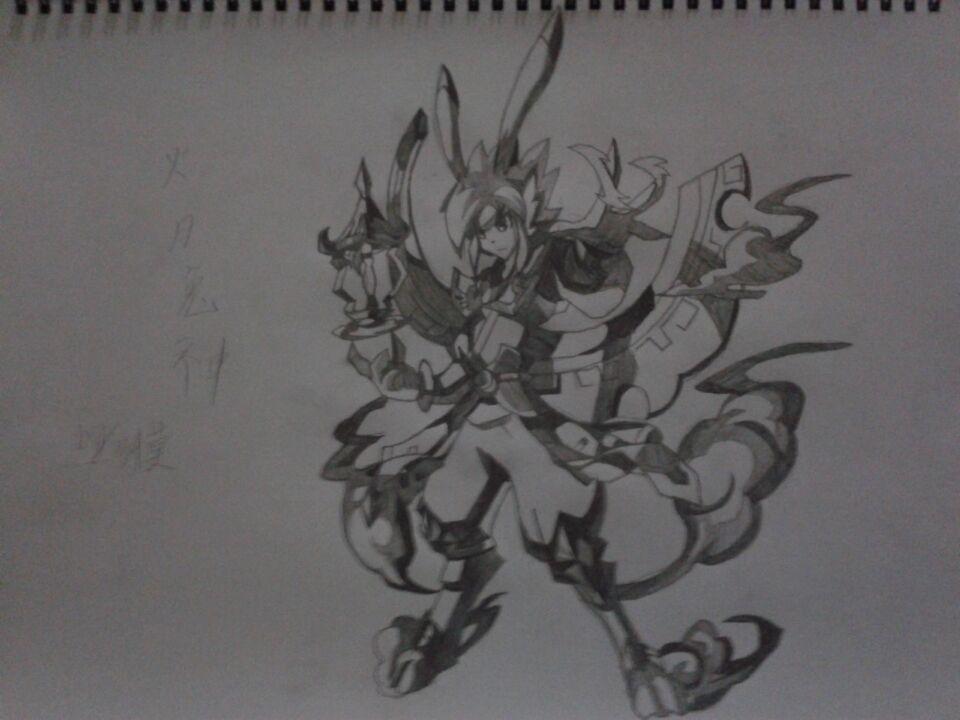 【黑魔方丨纤莫】手绘火月兔神