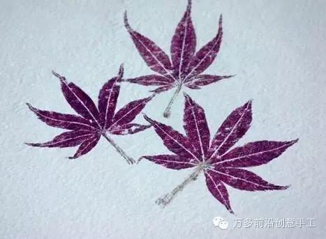 粘土玫瑰花叶子制作图解