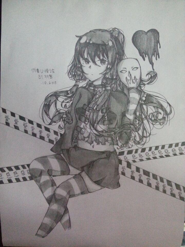 【羽宫】手绘长期图楼_百田漫画圈