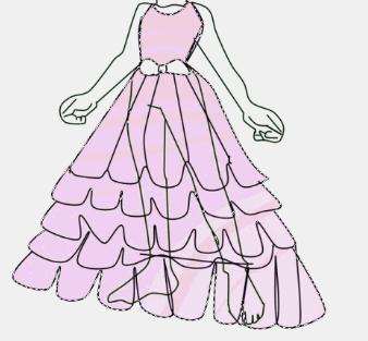手绘服装设计人模画法
