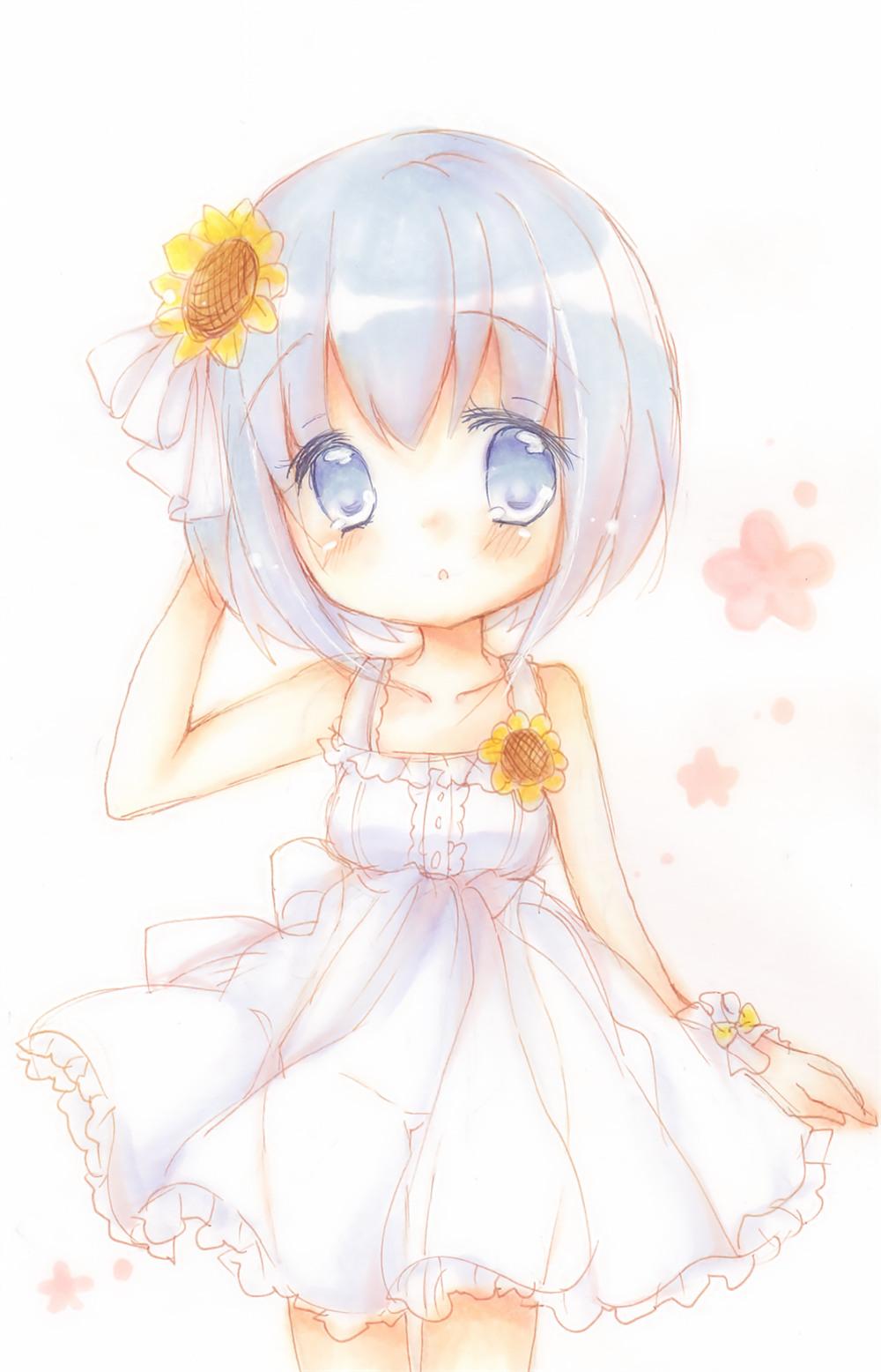 可爱动漫少女萌图