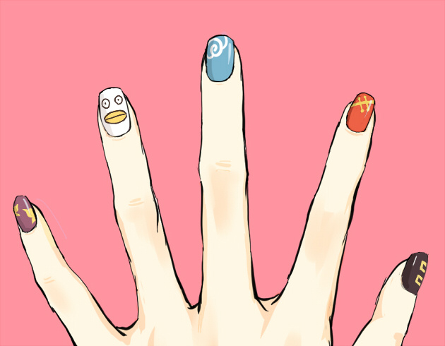 护理指甲步骤图
