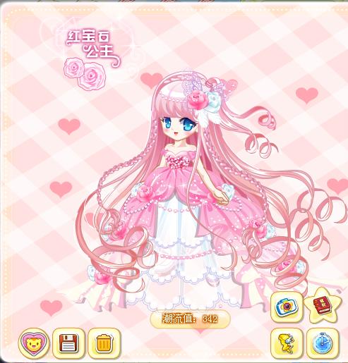 奥比岛粉色裙子搭配浅亦教你