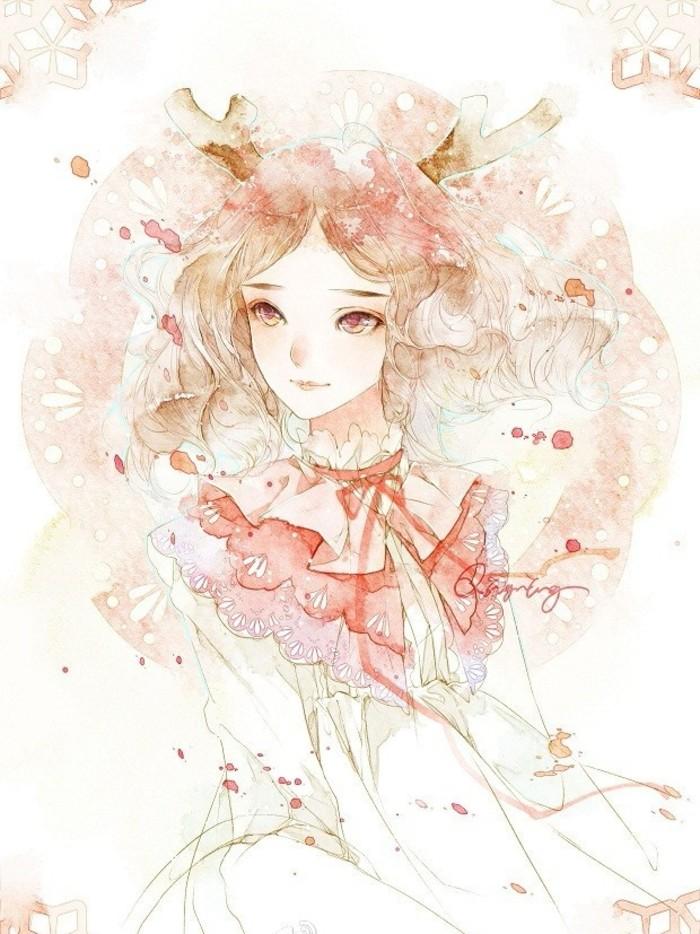 【筱雪】手绘彩铅美图