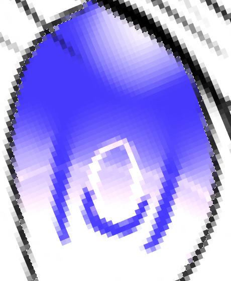新建发光图层画一个圆圈