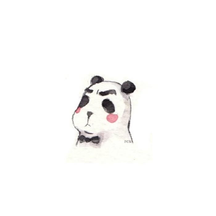 q版动物萌图钢笔画