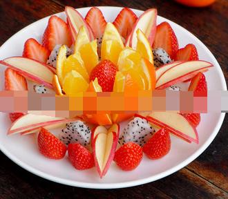 【水果呀】水果拼盘的图片及做法